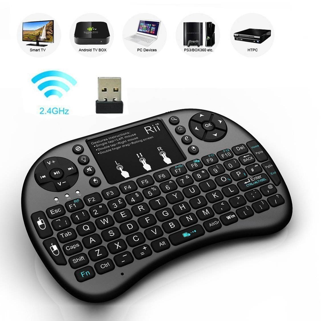 2273dc44cb4 Mini Wireless Keyboard with Touchpad Mouse – Tech Geeks